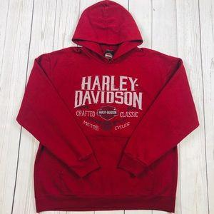 Harley Davidson Hoodie Pullover Size Large